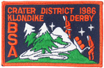 1986 Crater District Klondike Derby