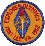 1962 Robert E. Lee Council Explorer Olympics Fort Lee VA.