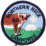 1986 Northern Neck District Camporee