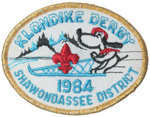 1984 Shawondassee District Klondike Derby