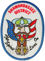 1985 Shawondassee District The Spirit Lives On