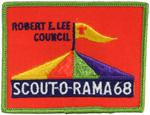 1968 Robert E. Lee Council Scout-O-Rama