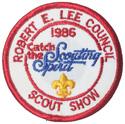 1986 Robert E. Lee Council Scout Show