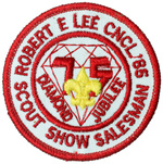 1985 Robert E. Lee Council Scout Show Salesman