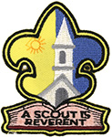 A Scout is Reverent Emblem - fdl