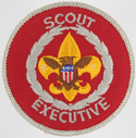 Scout Executive 1970 - 89