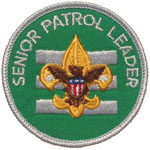 Senior Patrol Leader 1972 - 76