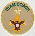 Varsity Scout Team Coach with Merit 2002 - 10