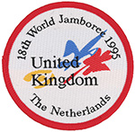 1995 World Jamboree United Kingdom The Netherlands