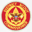 District Scout Commissioner 1978 - 89