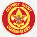 District Scout Commissioner 1989 - 93